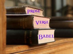 Prose Verse Babel Banner