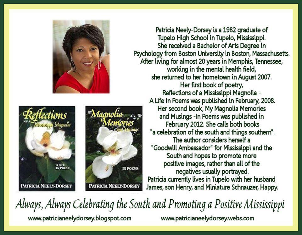 Reflections Magnolia Memories Blog Tour Guest Post By Poet Patricia